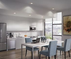 Kitchen, AMP Lofts