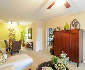 Living Room, Highland Hills Apartment Homes