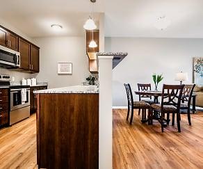 Kitchen, Gateway Green Apartments