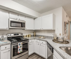 Bahia Cove Kitchen, Bahia Cove Apartments