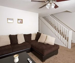 Living Room, Southwinds Apartments