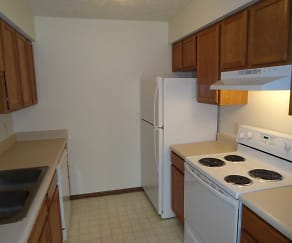 Kitchen, Caravelle Apartments and Townhomes