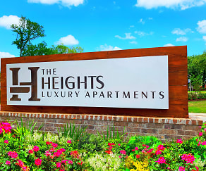 Community Signage, The Heights Apartments