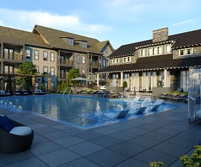 Pool, The Retreat at Iron Horse Apartments