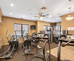 Fitness Weight Room, Mill Pond at Franklin Lakes