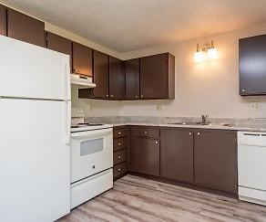 Kitchen, Gateway Village Apartments