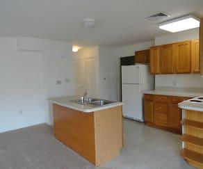 Kitchen, Kissel Hill Apartments