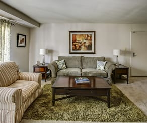 Living Room, White Oaks