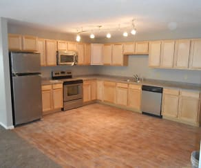 Kitchen, IMM Apartments