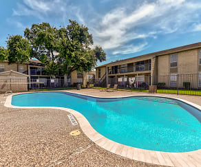 Pool, Vanderbilt Apartments