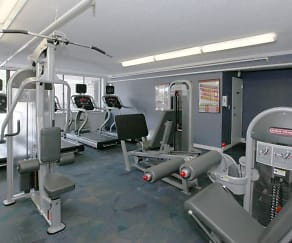 Fitness Weight Room, The Point at City Line