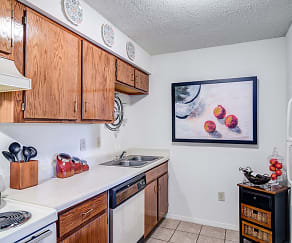 Kitchen, Sawmill Creek Apartments