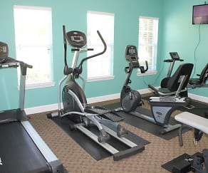 Fitness Weight Room, St. Phillip Villas