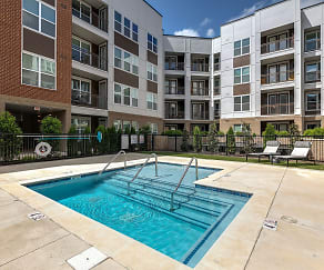 Pool, Mosby Cool Springs Apartments