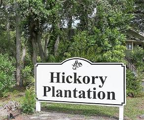 Community Signage, Hickory Plantation Apartments