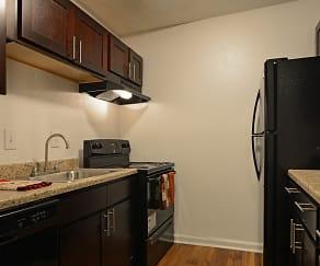 Kitchen, Vida Apartments by ARIUM