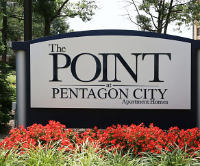 Community Signage, The Point at Pentagon City
