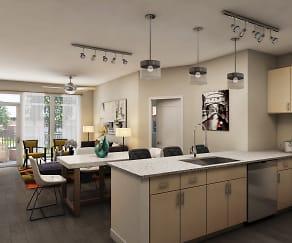 Kitchen, James River at Stony Point Apartments
