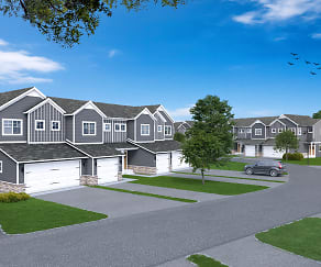 Building, Hanover Townhomes