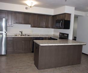 Kitchen, Washington Lofts