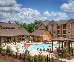 Pool, Warrick Trail Apartments