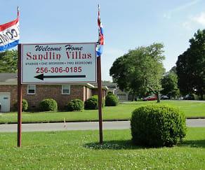 Building, Sandlin Villa