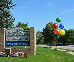 Community Signage, Rosewood Villas Senior Apartments