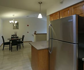 Kitchen, Villa Royale Apartments