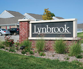 Community Signage, Lynbrook Apartments