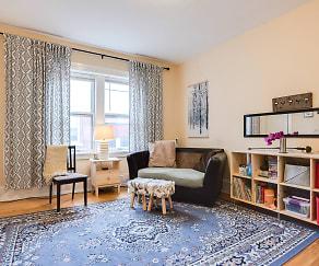 Living Room, Classic City Apartments