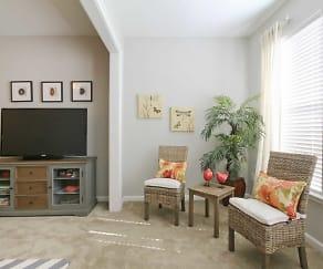 Living Room, Vinings at Carolina Bays