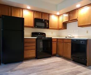 Kitchen, Maple Lane Apartments