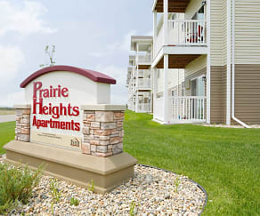Community Signage, Prairie Heights Apartments