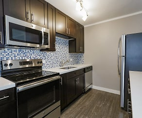 Kitchen, Woodland Ridge Apartments