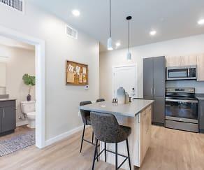 Kitchen, Pierpont Apartments
