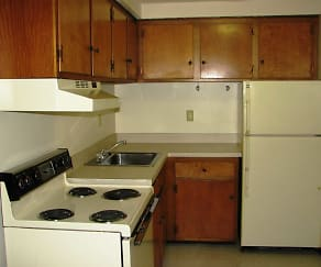 Kitchen, Candlelight Apartments
