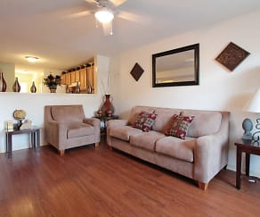 Living Room, Garners Crossing Apartments