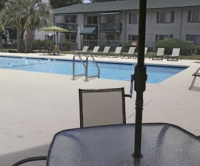 Pool, Timberland Apartments