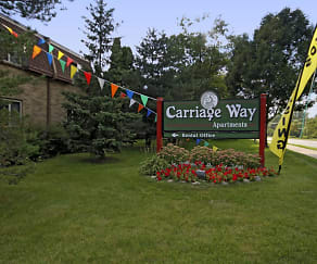 Community Signage, Carriage Way Apartments