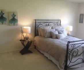 Bedroom, Ridge Valley Townhomes