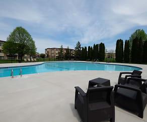Pool, Crystal Village Apartments