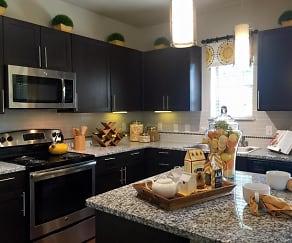 Kitchen, Flats at Garland