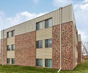 Building, Foot Lake Apartments