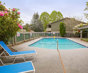 Pool, Sundance Apartments