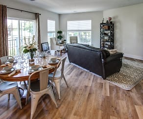Living Room, 246 W Avenue Apartments