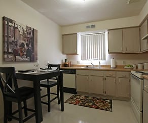 Kitchen, Foxmoor Apartments