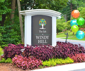 Community Signage, The Life at Windy Hill