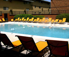 Pool, Highland Terrace Apartments
