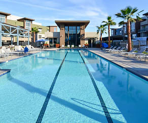 Pool, Aspire Apartments