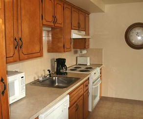 Kitchen - Appliances Included, Olde Towne Village Apartments